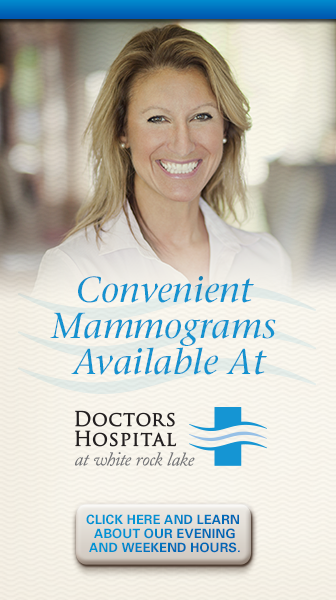 Mammograms Available at Doctors Hospital