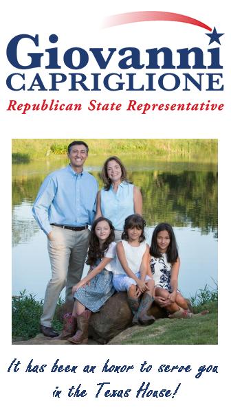 Giovanni Capriglione – TX State Rep.