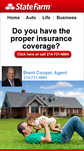 Brent Cooper, State Farm Agent in Dallas