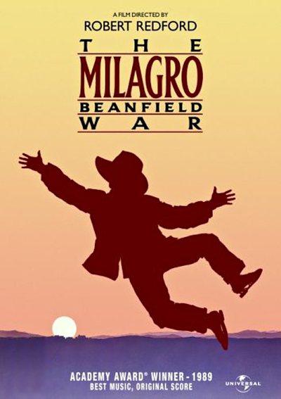 film poster for milagro beanfield war