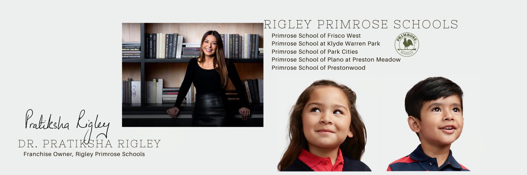 Dr. Pratiksha Rigley, Franchise Owner