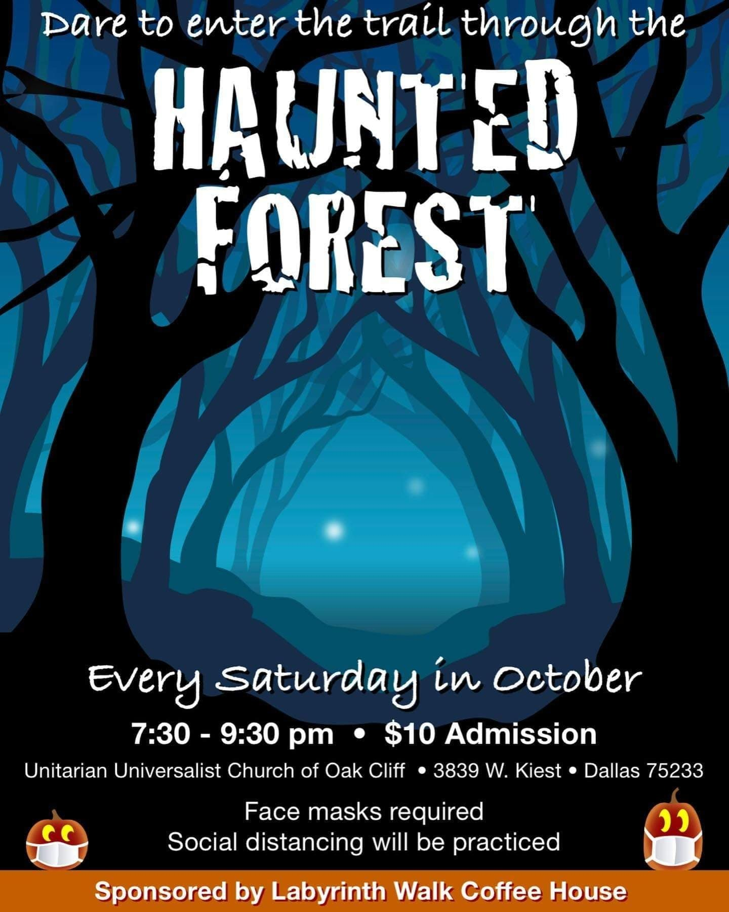 Haunted Forest Promotion Poster