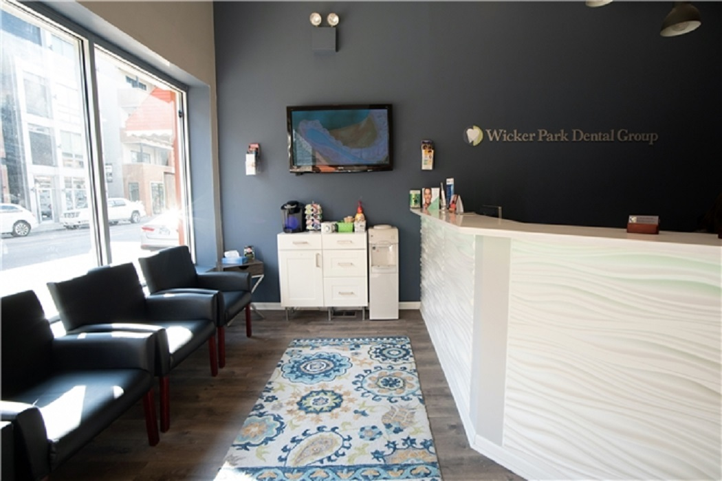 Waiting area at Chicago dentist Wicker Park Dental Group
