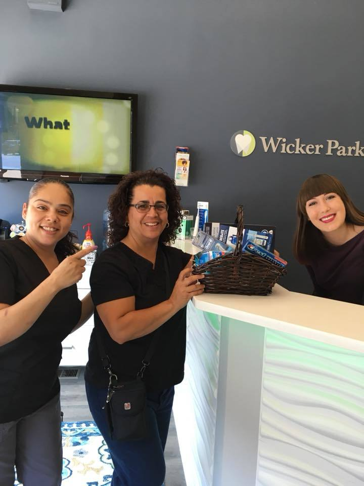 Warm and friendly staff at Wicker Park Dental Group
